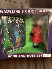 Madeline's Christmas Book And Doll Set