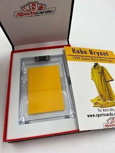 Lakers Kobe Bryant HOF 1999 Game Worn Warm Ups Patch Relic Sportscards.com