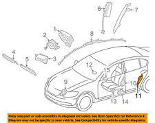 89834-30020 Toyota Sensor, air bag, rear lh 8983430020