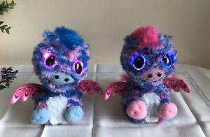 Hatchimals Interactive Pink & Blue Baby Dragons Twin Hatchibabies Spin Master
