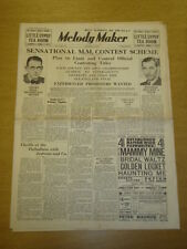 MELODY MAKER 1935 AUG 3 HENRY HALL AMBROSE MILLS BROTHERS BIG BAND SWING