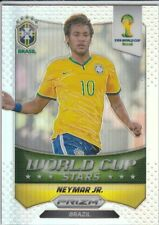 2014 Panini Prizm World Cup World Cup Stars Refractor # 7 Neymar Jr.