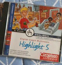 English Coach Multimedia Highlight 5 (Englisch für die Hauptschule 9. Klasse)