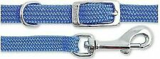 Small Bite Puppy Collar & Lead Set Nylon Blue 20 - 30cm Sz 0-3 X 3 Pcs