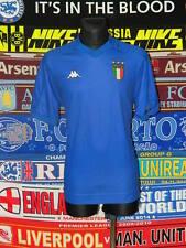 3.5/5 Italie adultes XL 1998 KAPPA rare football shirt jersey trikot football