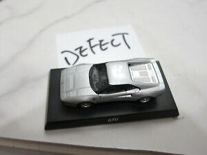 Kyosho - Ferrari MiniCar 7 - GTO - Silver - Scale 1/64 - Mini Car - A9