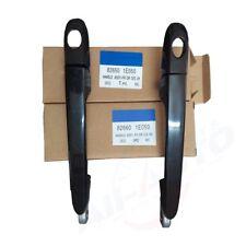 2pcs Front Left Right Outside Black Car Door Handles For Accent Verna 05-11