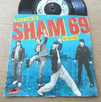 "DISQUE 45T DE SHAM 69  "" YOU'RE A BETTER MAN THAN I """