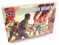 AIRFIX® 1:76 WW2 GERMAN INFANTRY VINTAGE MODEL KIT SOLDIERS WORLD WAR II A00705V