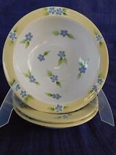 Mesa Isabella Cereal Bowl (s) multiples - Yellow Rim *have more items to set*