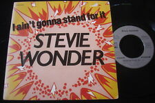 "STEVIE WONDER/I AIN'T GONNA STAND FOR IT/TAMLA MOTOWN /SOUL/FRENCH 7"" SP"
