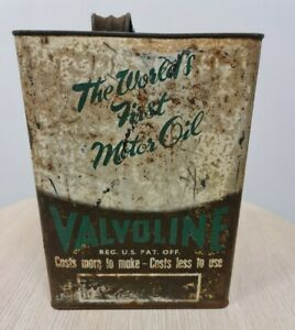 Valvoline One Imperial Gallon Tin As Is