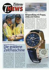 Tutima news 2006 relojes folleto folleto relojes brochure Watches wingwalking