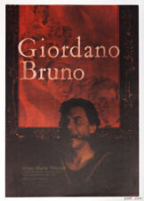 Movie Poster Giordano Bruno 1975 Graphic Design 70s Cinema Art