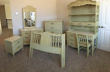 Solid Wood Bedroom Furniture Sets With More Than 6 Pieces For Sale ...