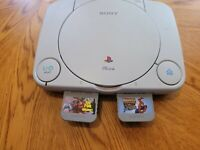 Sony Playstation PS1 slim replacement console