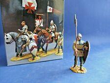 King & Country MK006 Crusaders Croisés à pied avec lance et bouclier - En boîte