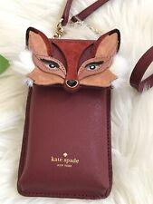 NWT Kate Spade fox iPhone crossbody bag Super Cute! Collectible Item Gift