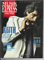 musikexpress Sounds Nr.11 von 1992 Keith Richard, Zucchero, Brian May... - TOP