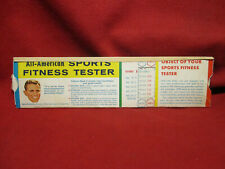Vintage General Mills Wheaties All-American Sports Fitness Tester
