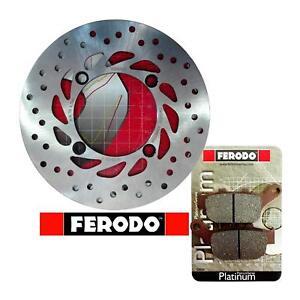 KIT/Freno Honda Transalp/XL/600/650/700/V  posteriore  disco pastiglie Ferodo