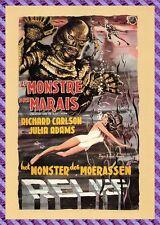 Carte Postale Affiche de Film - LE MONSTRE DES MARAIS ( Richard CARLSON)