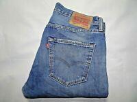 """W33 L34 LEVIS 501 Mens Jeans Blue Denim Straight Leg SIZE Waist 33"""" Leg 34"""" LEVI"""