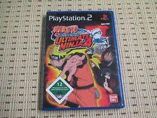 Naruto Shippuden Ultimate Ninja 4 para PlayStation 2 ps2 PS 2 * embalaje original *