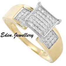0.25ctw Diamond 14k Two Tone Gold Ring
