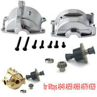 Metal Upgrade Gear Box Shell for Wltoys A949 A959 A969 A979 A959 RC Car Truck