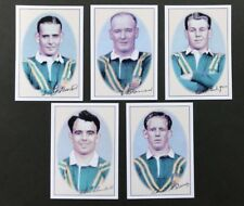 RARE CARDS SET  Australian Rugby League Tourists 1948 2002 Facsimile Signatures