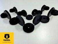 EPDM M6 und M8 25/33x5 mm Gummischeiben, Unterlegscheiben, Gummiunterlegscheiben