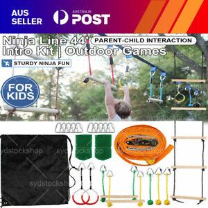 New Obstacle Slackline kids Intro Kit NinjaLine Versatility Moving Obstacle AU