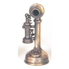 OLD TIME TELEPHONE BRONZE PENCIL SHARPENER NEW