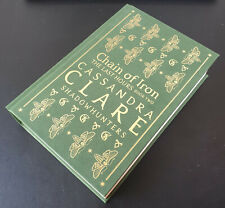 Cassandra Clare: Chain of Iron - Signed WS Exclusive Rune Edition - VERY GOOD!