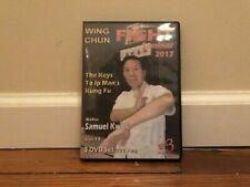 Wing Chun Seminar 2017 (3) Dvd Set kung fu ip man self defense