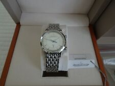 Jaeger LeCoultre Master Control Memovox Reveil Alarm Watch 144.8.94 Box & Papers