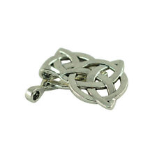10Pcs Tibetan Silver Witches Wicca Pagan Celtic Knot Pendants Charms for DIY