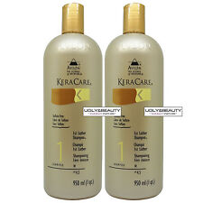"""Keracare 1st Lather Shampoo 950 ml / 1 qt. """"Pack of 2"""" with Free Gift"""