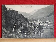 Fotokarte - Gruß aus Landl / Tirol - gel ca 1910 - Gem Thiersee Gasthof-Stempel