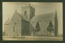 St. Mary The Virgin in the village of Stow, Lincolnshire - Vintage Photo P/Card