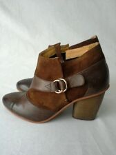 Anthropologie Sienna Wrap Brown Ankle Boot/ Bootie by J Shoe Size 7.5 MSRP: $196
