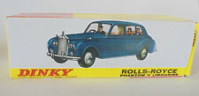 REPRO BOX DINKY n. 152 Rolls Royce Phantom V
