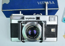 Voigtlander Vitessa L 35mm Camera with documents and in Original Box.