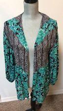 Volcom Ladies Hudson River Throw  Kimono Size S/XS