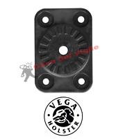 Vega Holster Piastra con Ruota Dentata 8K79 Nero per passante rotativo 8k80 8k81