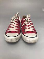 Converse All Star 132298F Lo sneakers - Women's sz 8 Mens sz 6 - Raspberry