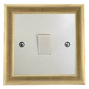 Light Switch Surround Finger Plate Art Deco Pine Contemporary Modern Choice