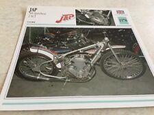 Carte moto JAP 500 Speedway 2 ACT 1978 collection Atlas Motorcycle UK