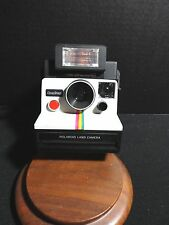 Vintage Polaroid Instant Land Camera One Step SX - 70 w /600 Electronic Flash